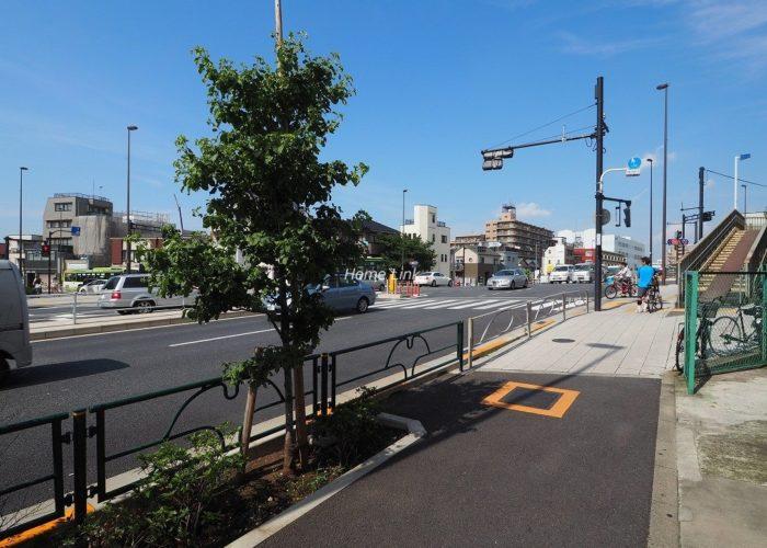 タカシマ志村マンション 前面道路