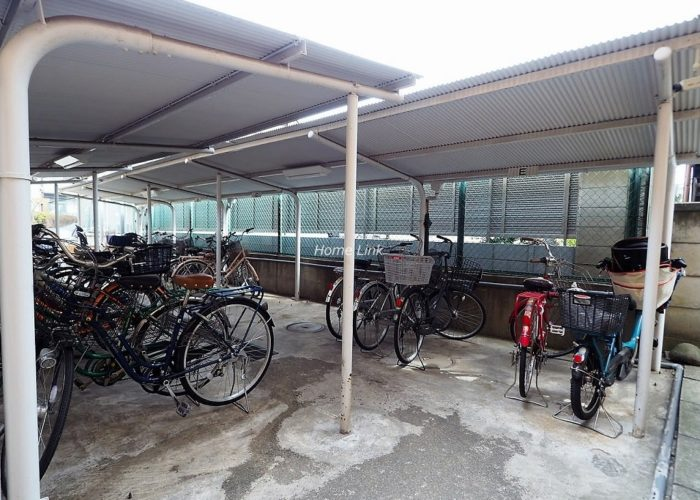 ダイアパレス城北中央公園 駐輪場