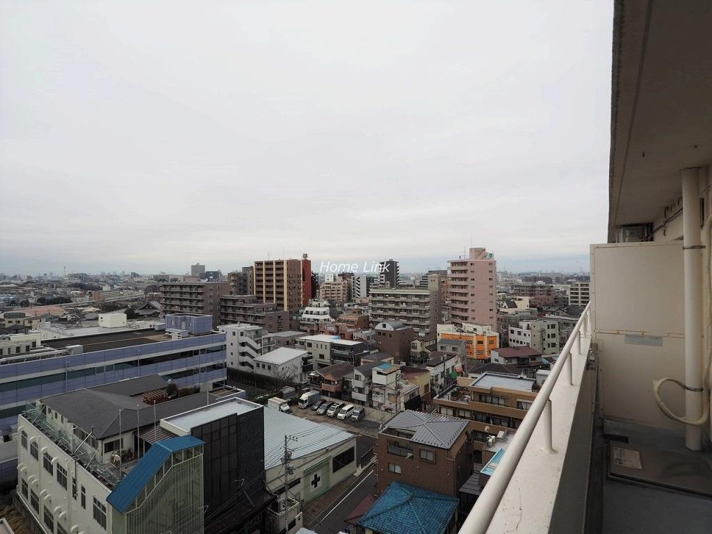 ニューライフ志村坂上11階 最上階バルコニーからの眺望