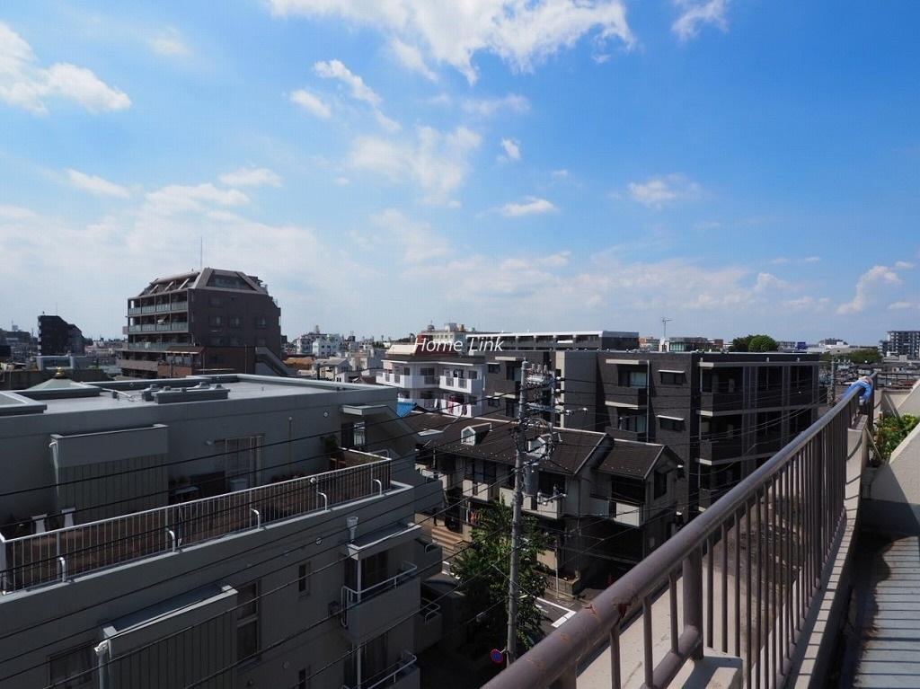 メゾン南ときわ台5階 高い建物がなく気持ちのいい開けた眺望
