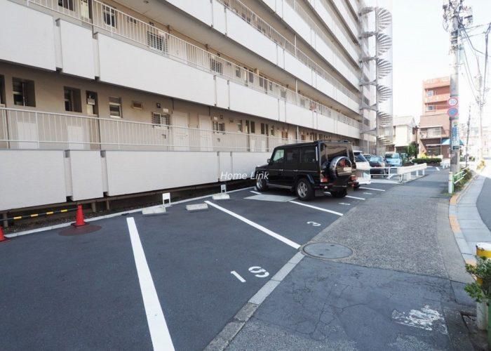 上板橋ハウス 敷地内駐車場