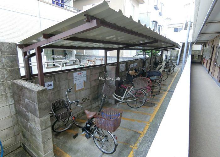 中板橋ローヤルコーポ 駐輪場