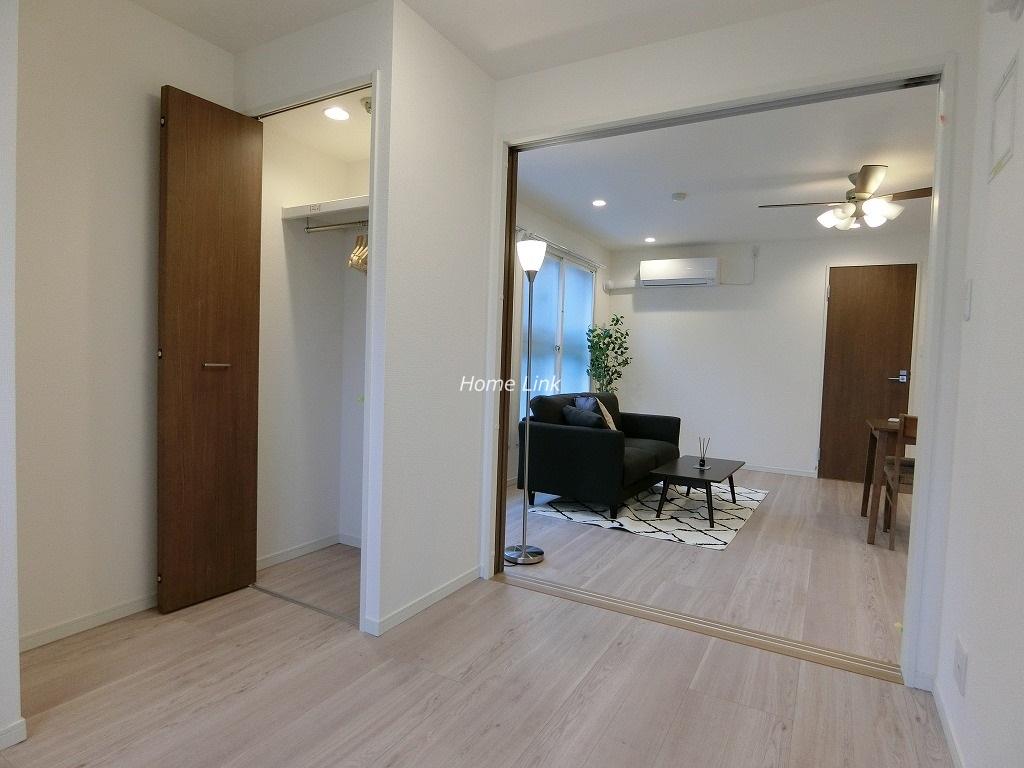 南常盤台ハイム2階 リノベーション&家具・エアコン付き