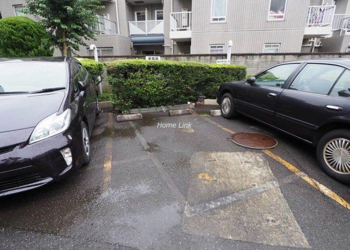 城北公園ハイツ 来客用駐車場