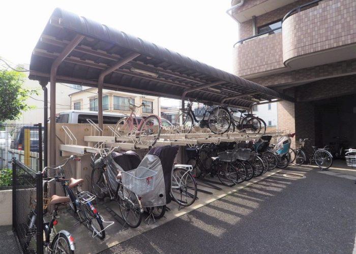 日神パレステージ板橋本町第5 駐輪場