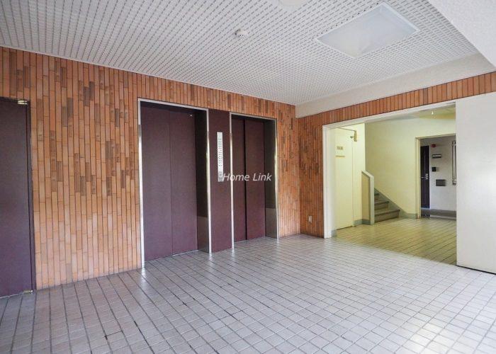 蓮根ファミールハイツ1号棟 エレベーターホール