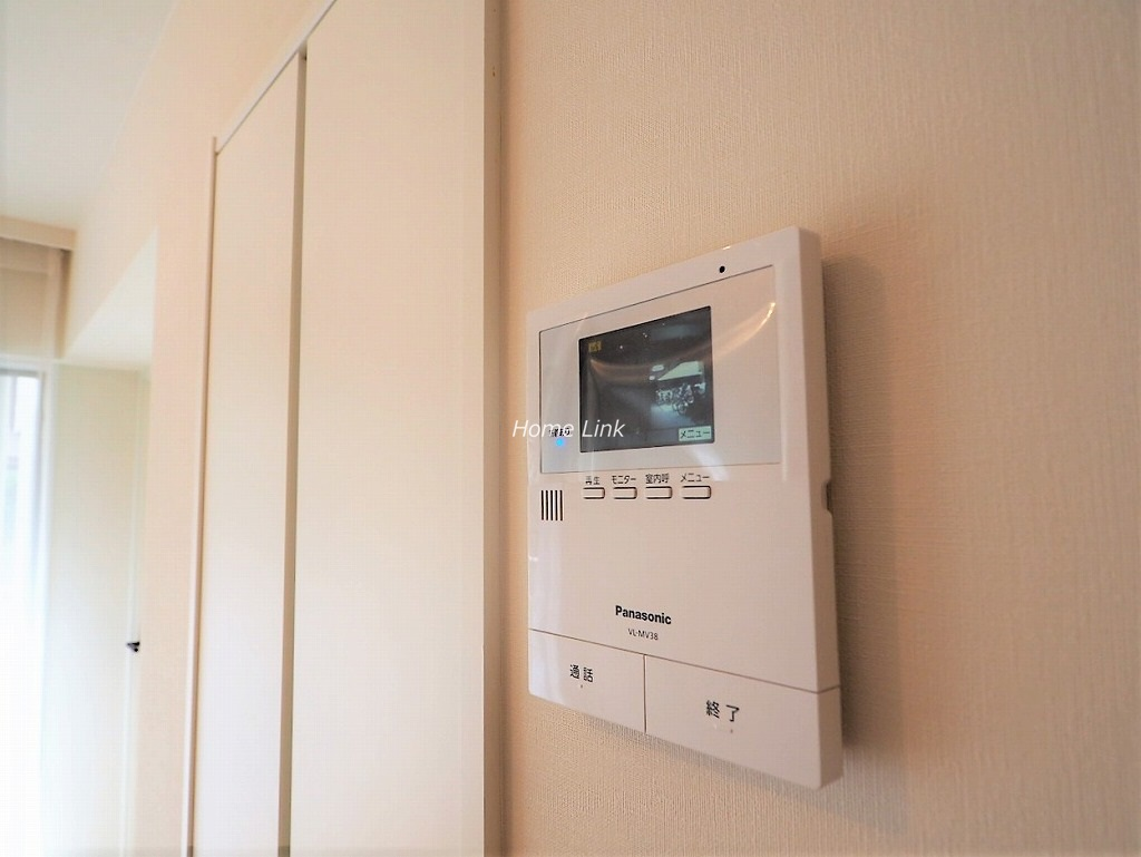 ゾンネンハイム常盤台1階 モニタ付きインターホン
