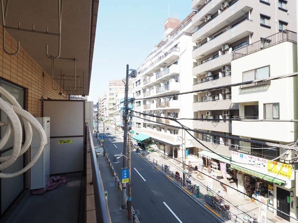シャロン板橋3階 バルコニーからの眺望