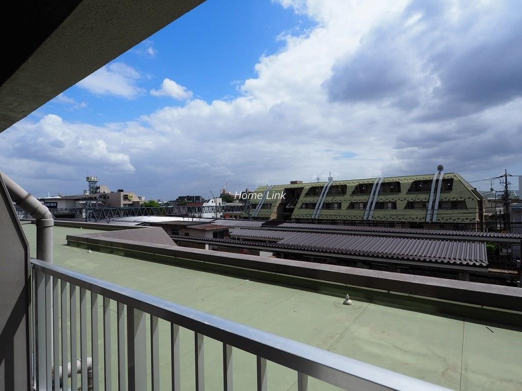 上板橋ハウス3階 バルコニーからの眺望