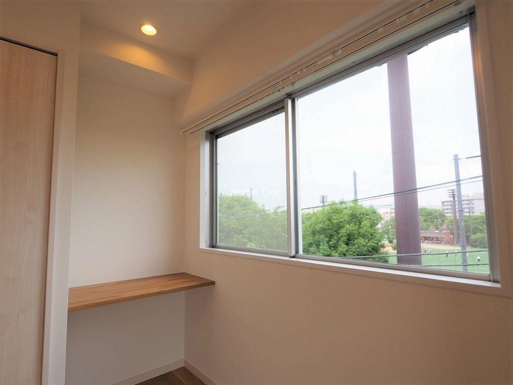 城北公園ハイツ4階 洋室6.0帖カウンタースペース