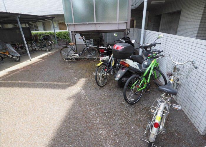 シティホームズ常盤台 駐輪場