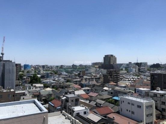 シーズスクエア板橋本町9階 最上階バルコニーからの眺望