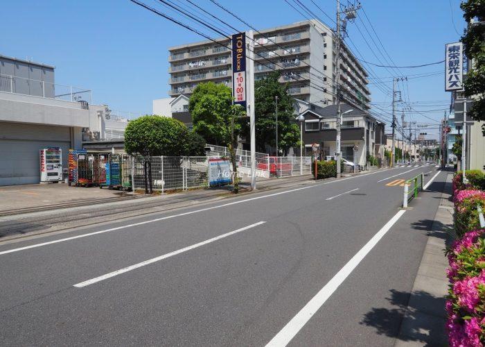 パシフィック小豆沢 前面道路