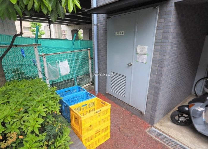 ライオンズマンション板橋赤塚 ゴミ置き場