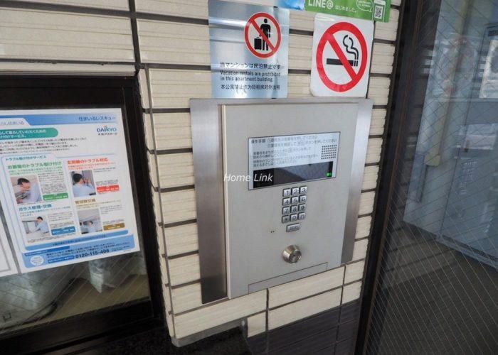 ライオンズマンション板橋赤塚 オートロック