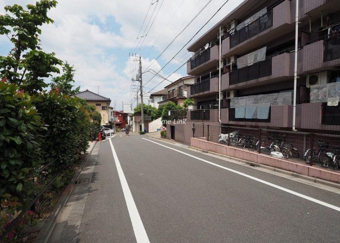 日神パレステージ東武練馬台 西館 前面道路