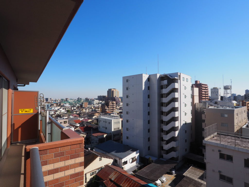 シーズスクエア板橋本町8階 バルコニーからの眺望