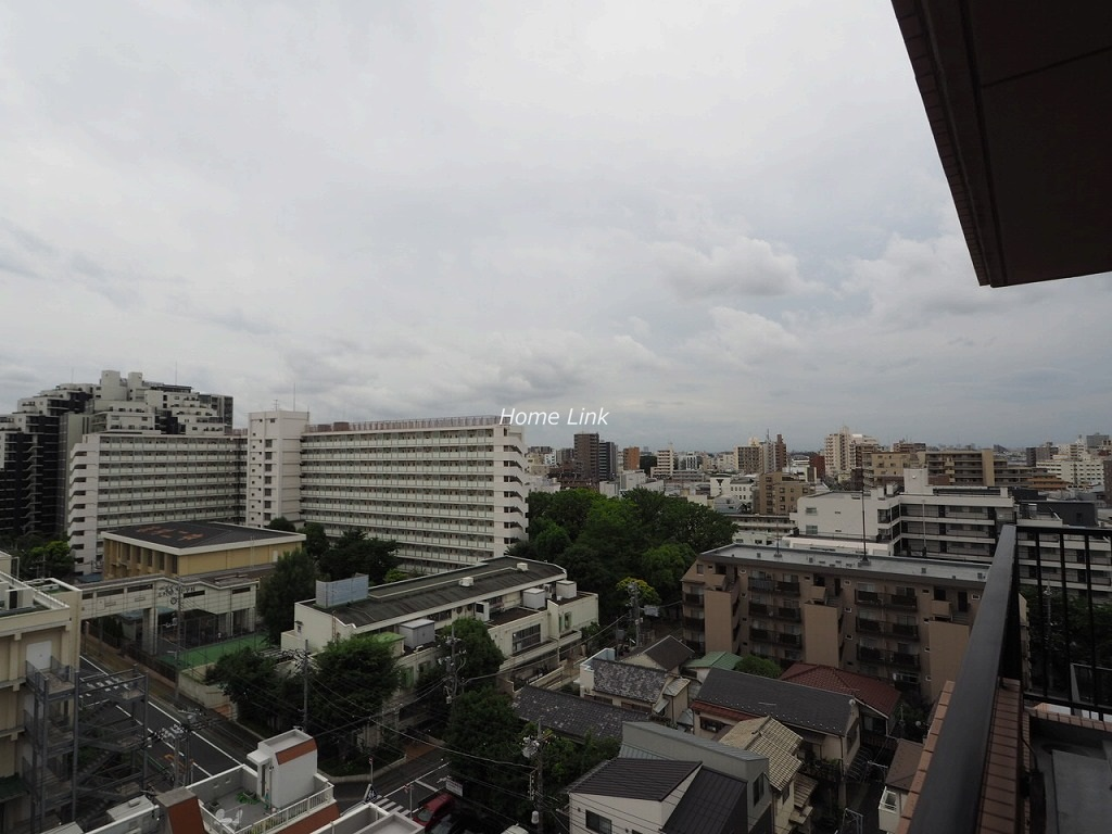 パシフィック小豆沢10階 最上階バルコニーからの眺望