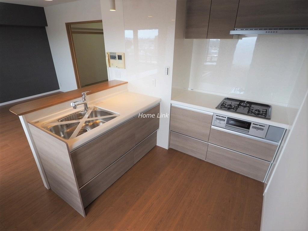 ダイアパレス南鳩ヶ谷グランエール9階 L字型キッチン