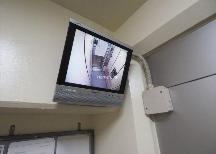 板橋中台マンション エレベーター防犯モニター