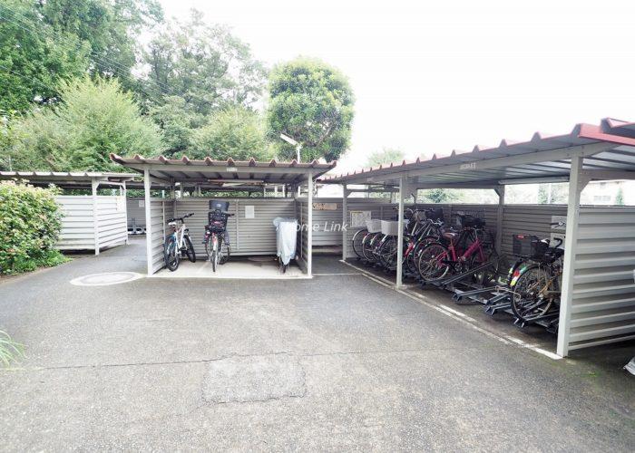 板橋中台マンション 駐輪場