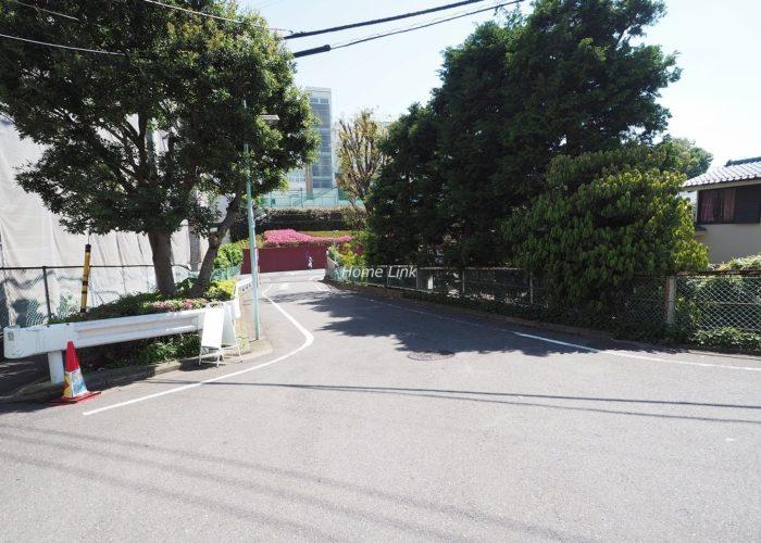 板橋中台マンション 前面道路