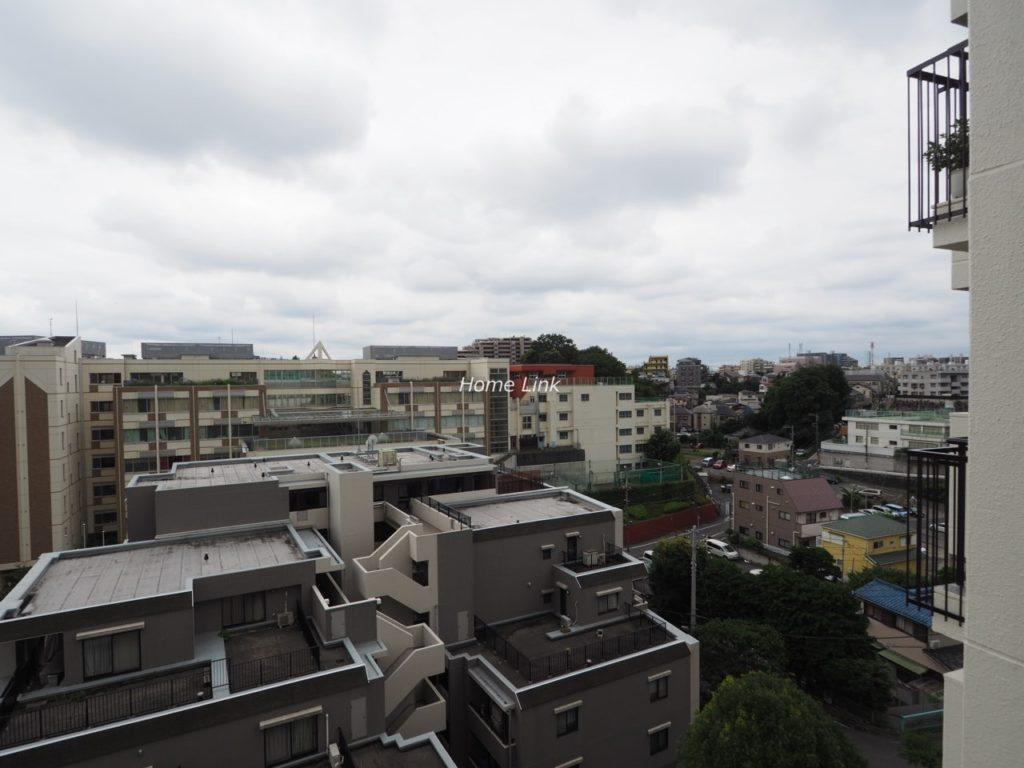 板橋中台マンション8階 バルコニーからの眺望