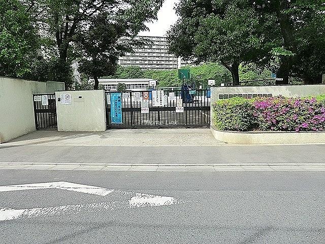 板橋中台マンション周辺環境 緑小学校