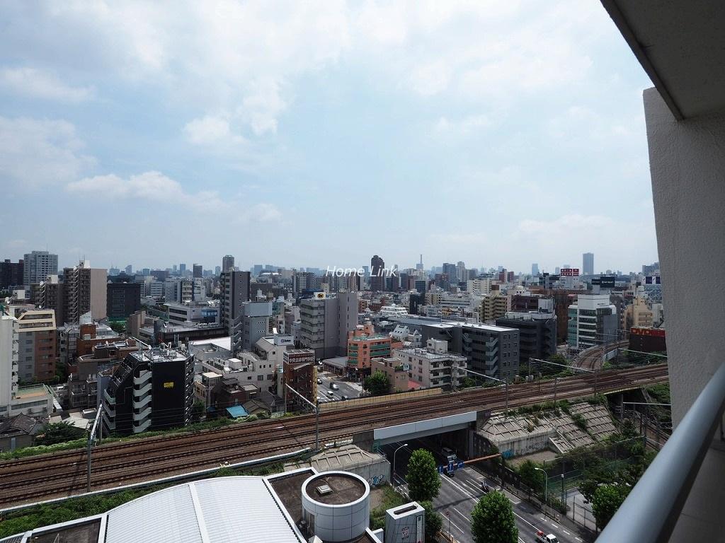 高田馬場住宅14階 14階最上階からの眺望