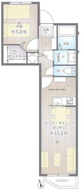 GSハイムときわ台3階 間取図