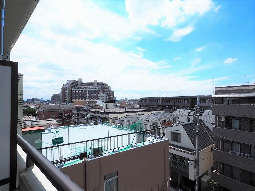 エスポワール常盤台5階 バルコニーからの眺望
