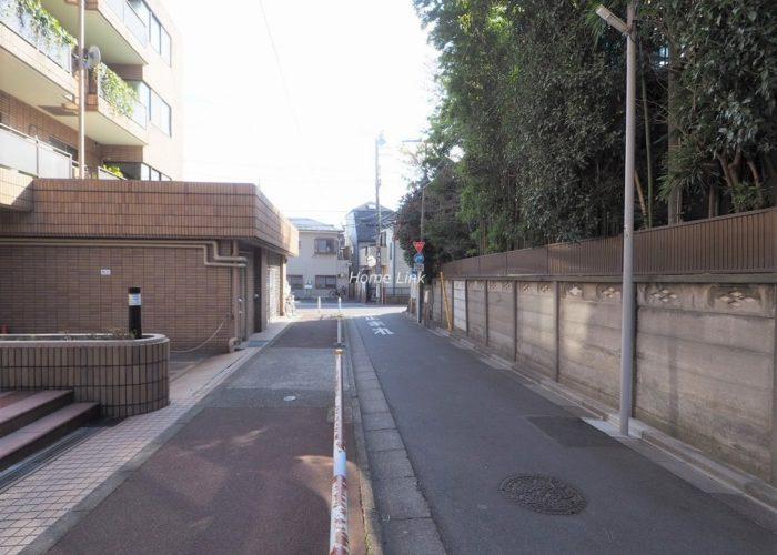 スターロワイヤル常盤台壱番館 前面道路歩道