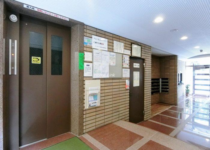 スターロワイヤル常盤台壱番館 エレベーターホール