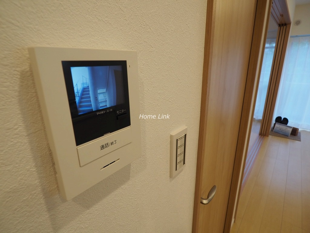 パークハイツ高島平3階 TVモニター付きインターホン