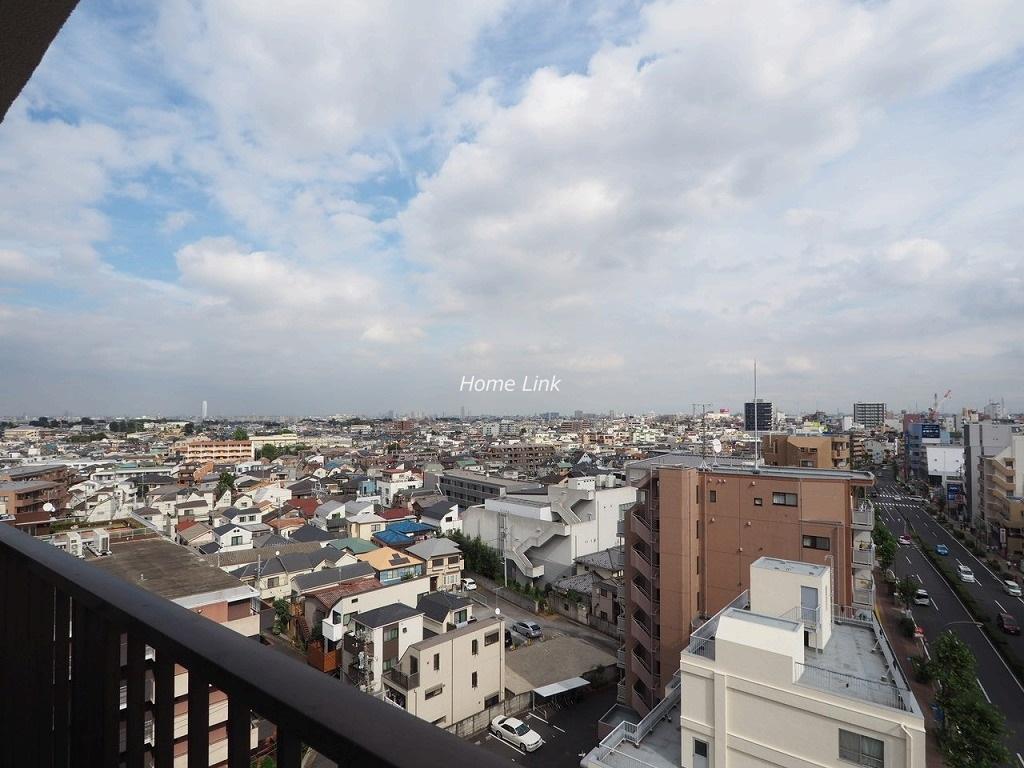 ライオンズマンション赤塚10階 10階バルコニーからの眺望