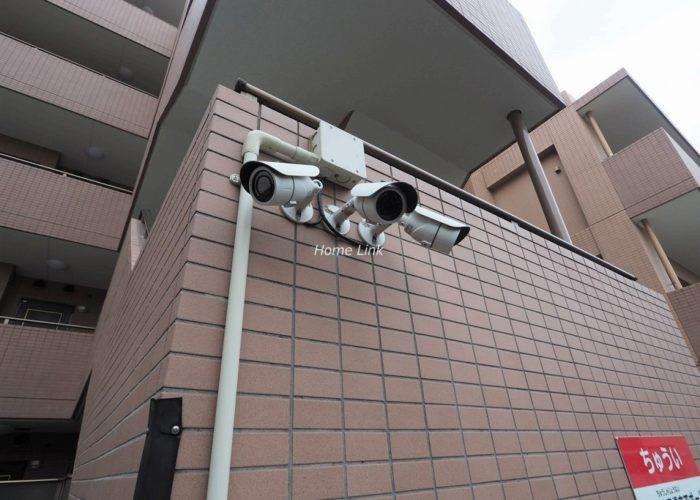 ルピナス赤塚ツインズガーデン壱番館 防犯カメラ