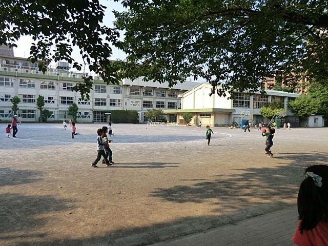 洋伸小豆沢公園マンション周辺環境 志村第四小学校