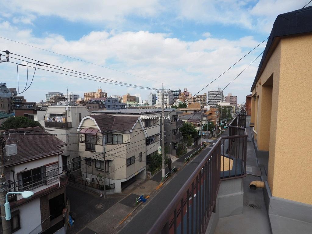 成増第3シャトレ4階 ルーフバルコニーからの眺望