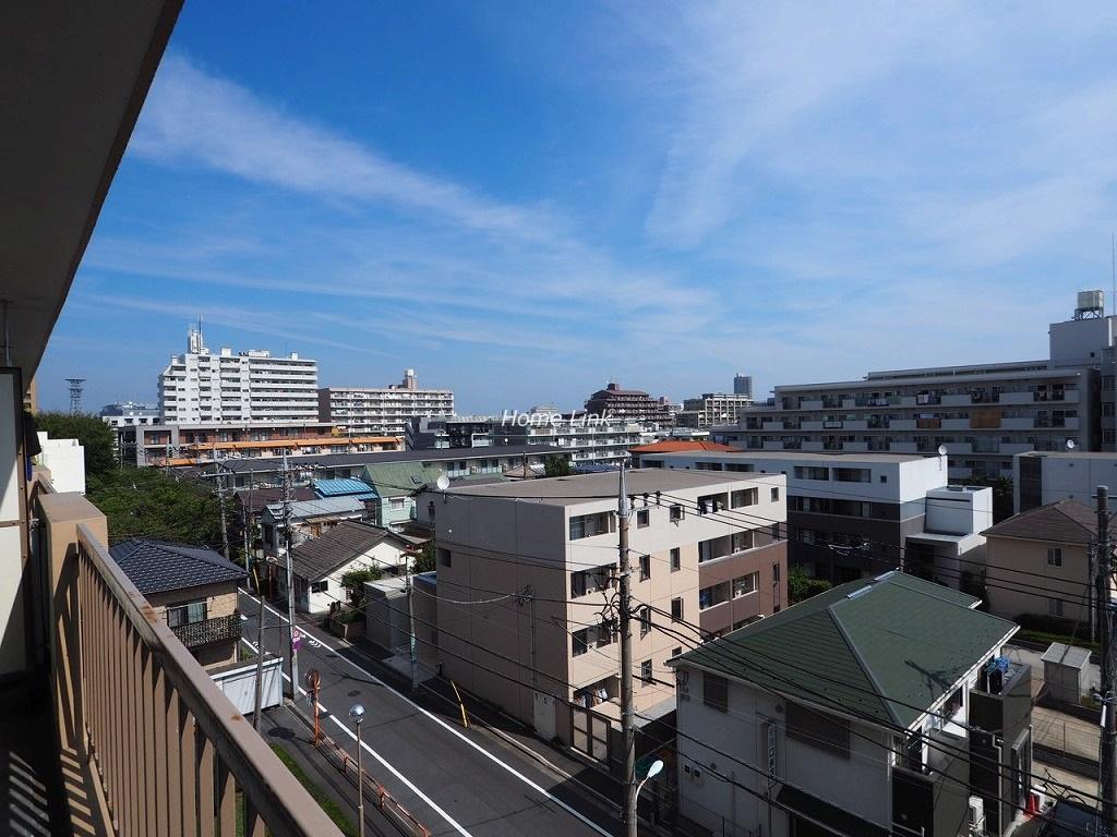 東久蓮根ハイツ5階 バルコニーからの眺望