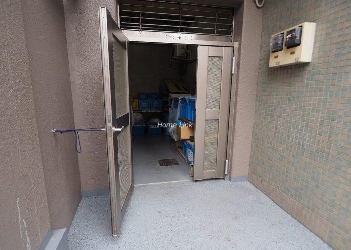板橋本町アーバンライフ ゴミ置き場
