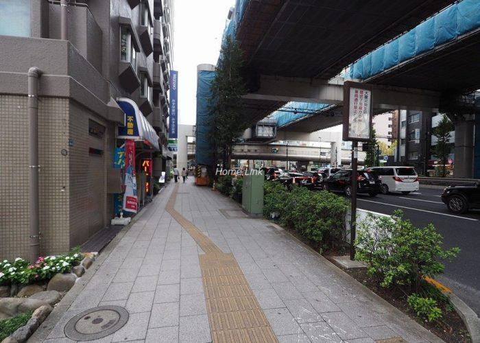 板橋本町アーバンライフ 前面道路歩道