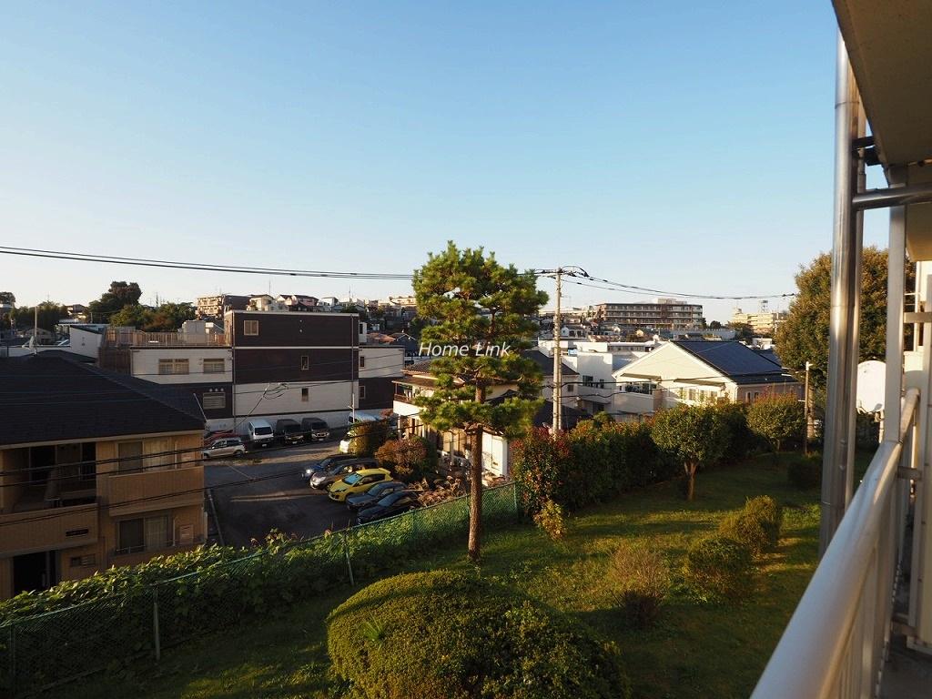 若木住宅3号棟2階 2階でありながら開けた眺望