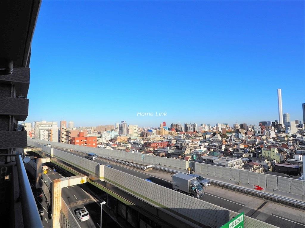 アイディコート池袋西スターファーロ10階 バルコニーからの眺望