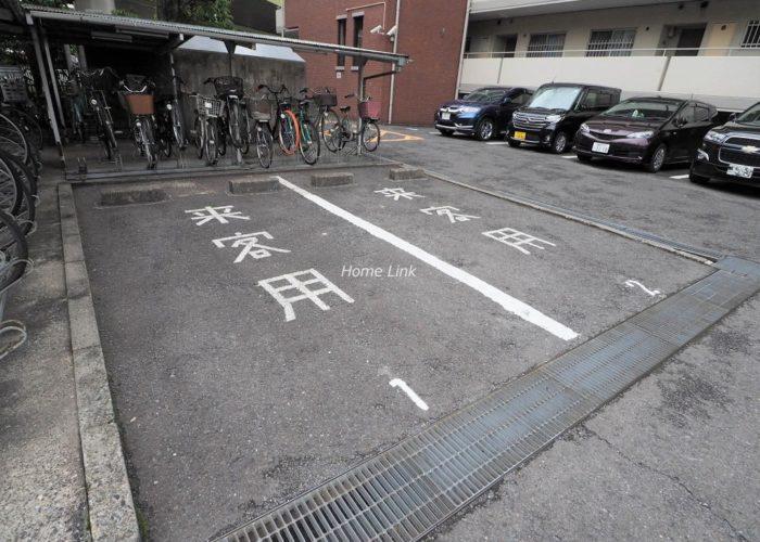 シティコープ本蓮沼 来客用駐車場