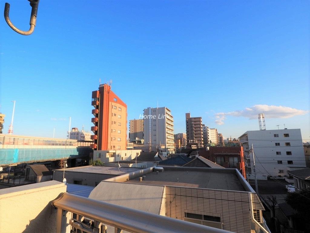 シティコープ本蓮沼4階 バルコニーからの眺望
