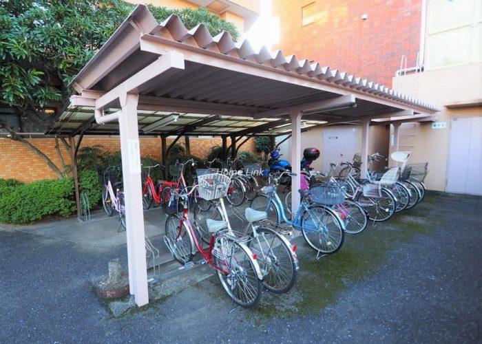 シンハイム高島平 駐輪場