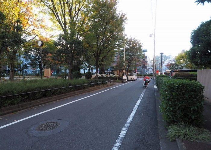 シンハイム高島平 前面道路