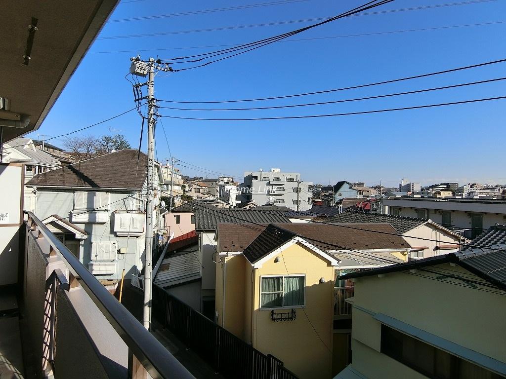 チサンマンション板橋徳丸3階 バルコニーからの眺望