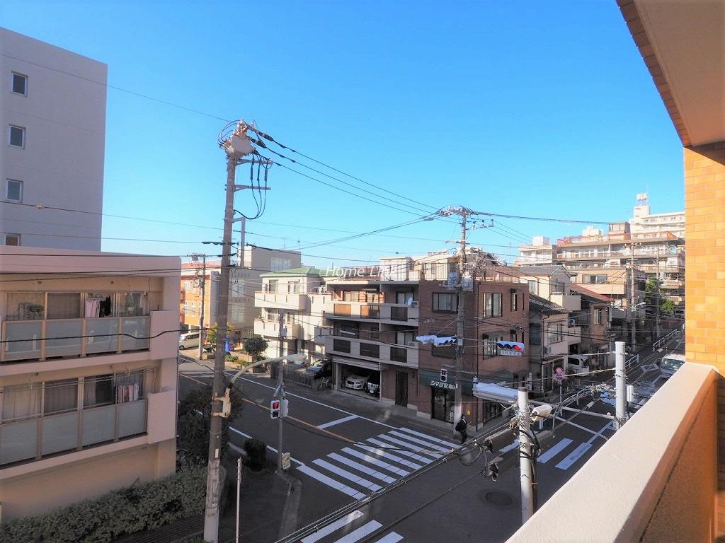 ライオンズマンション板橋中丸町3階 バルコニーからの眺望