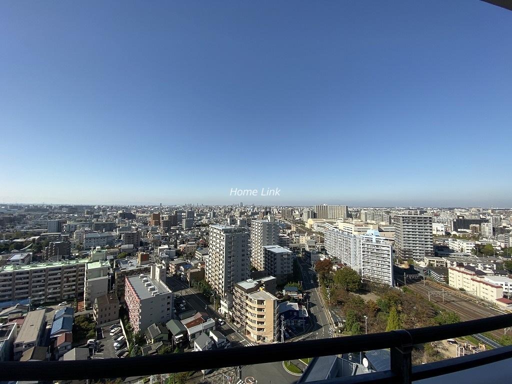 リプレ川口一番街6号棟 最上階からの眺望